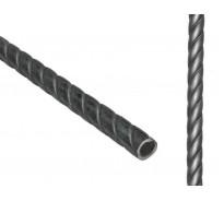 Труба крученная 3000 мм., диаметр 21 мм.