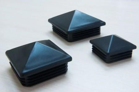 Заглушка 40х40 мм ПВХ (Пирамида)