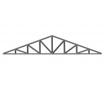 Ферма двухскатная 12×1,6 м. (уголок 63,45)