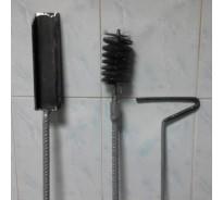 Набор для чистки котлов (ершик, совок, кочерга)