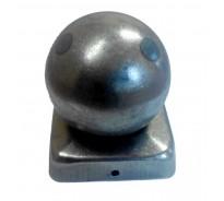 Крышка 100×100 мм, шар 100 мм