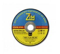 Круг отрезной по металлу Ø125×1,2×22 ZIM